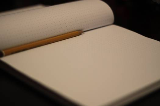 notepad notebook pencil  #18281