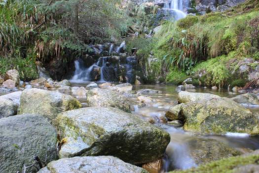 Valley Natural depression Waterfall #183223