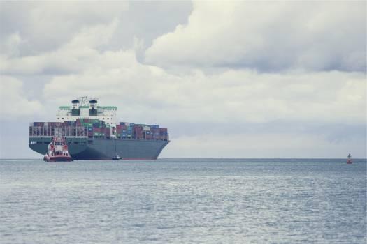 cargo ships boats  Free Photo