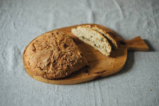 baking bread cutting board  #18368