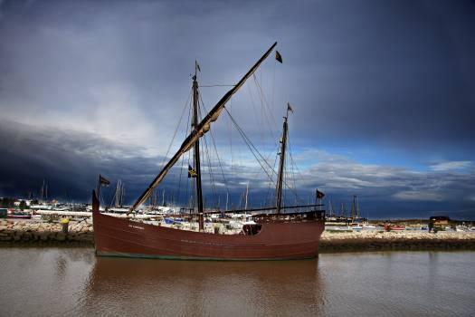 Vessel Ship Pirate Free Photo