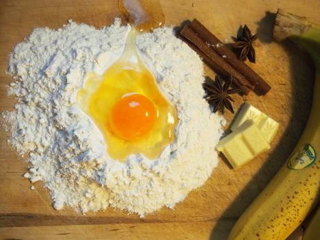 baking flour egg  Free Photo