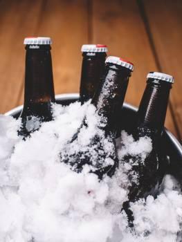 beer bottles bucket  #18443