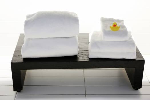 spa white towels  #18477