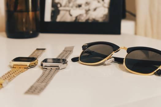 watches sunglasses fashion  Free Photo