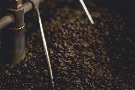 coffee beans roasting grinding  #18519