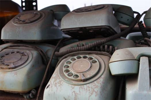 rotary telephones antiques  Free Photo