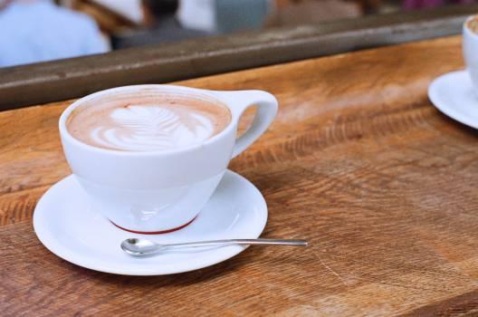 coffee cafe latte  Free Photo