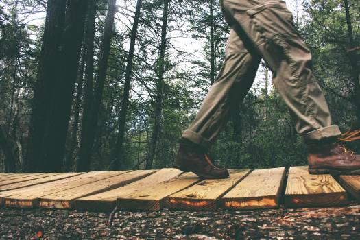 man walking pants  Free Photo