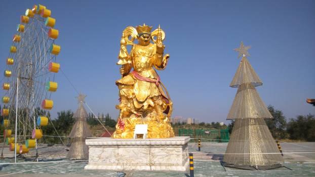 Shrine Statue Temple Free Photo
