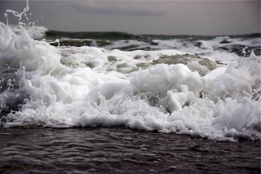water waves ocean  Free Photo