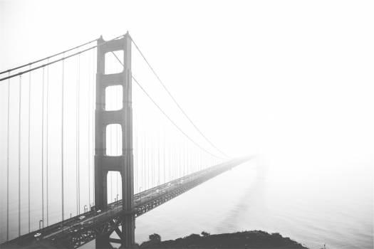 Golden Gate Bridge San Francisco architecture  #18658