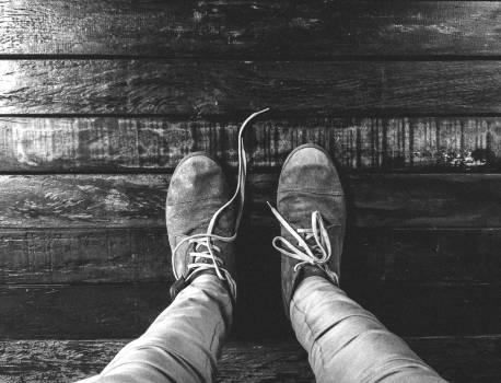 shoes laces pants  Free Photo