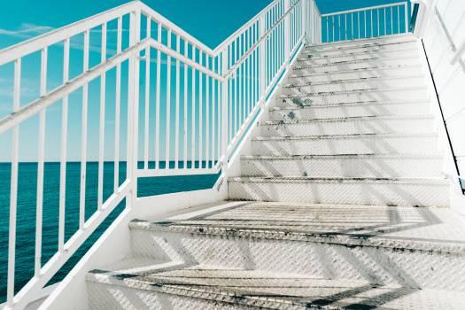 stairs steps railing  #18729
