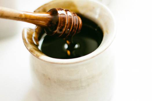 honey dipper jar  Free Photo