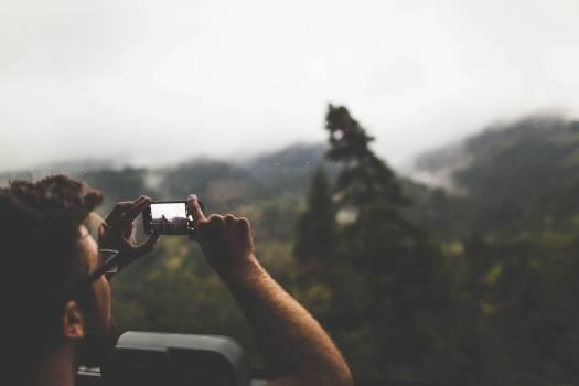 Man Binoculars Person Free Photo
