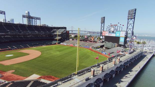 AT&T Park baseball stadium  #18835