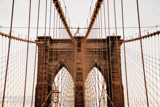 Brooklyn bridge architecture american  Free Photo