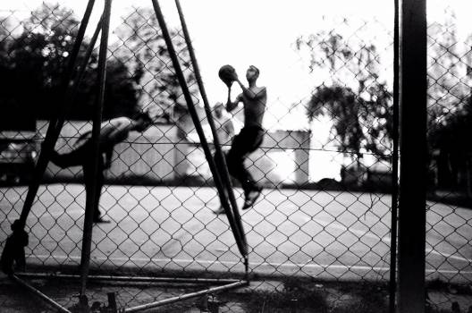 basketball court fence  #18850