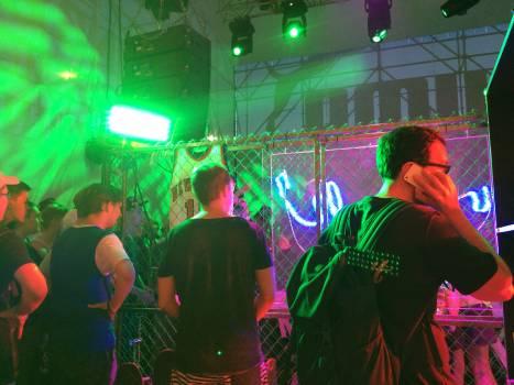 Laser Cabaret Spot Free Photo