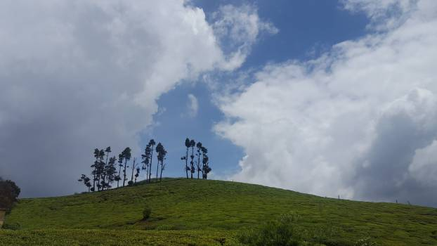 Knoll Sky Landscape Free Photo