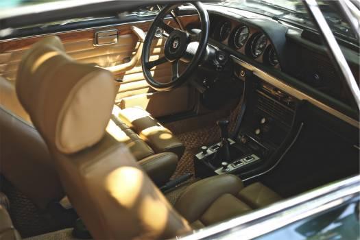 car interior dashboard  Free Photo