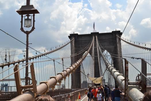 Bridge Suspension bridge Structure Free Photo