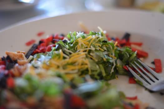 salad lettuce vegetables  #19030