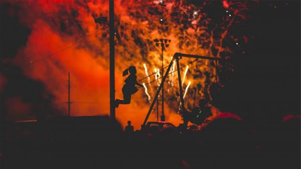 fireworks smoke light show  #19059