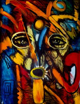 Graffito Decoration Mask Free Photo