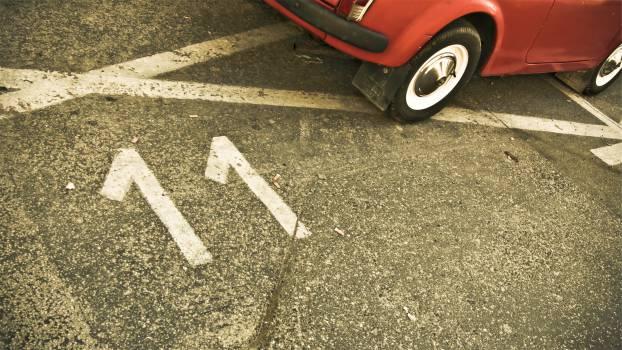 road pavement car  Free Photo