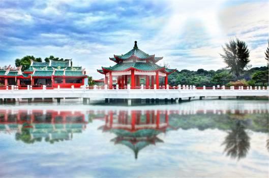 asian temple culture  Free Photo