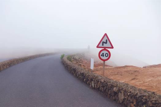 road fog signs  #19213