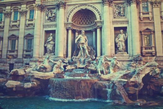 Trevi Fountain Rome Italy  #19223