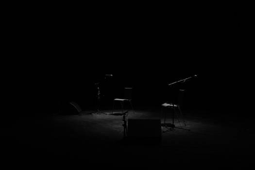 stage limelight dark  Free Photo
