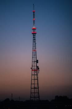 Antenna Tower Sky Free Photo