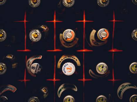 beer bottles case  #19329