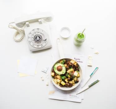 Dial Food Design Free Photo