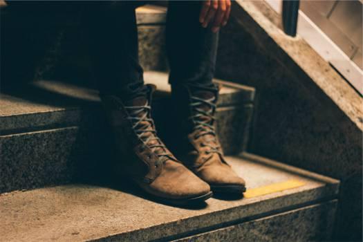 boots shoes laces  Free Photo