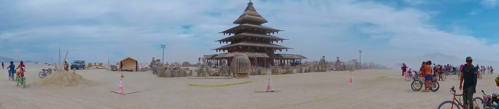 Temple Stupa Building #194148