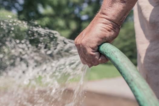 garden hose gardener water  #19422