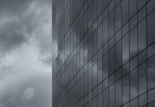 building windows architecture  Free Photo