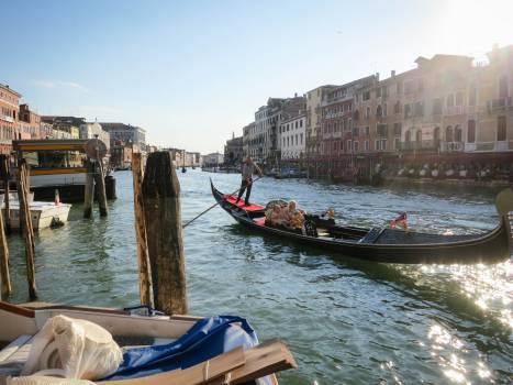 gondola Venice Italy  #19435