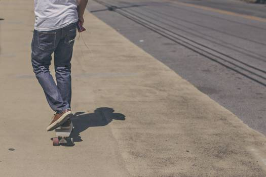 skater skateboarding street  #19507