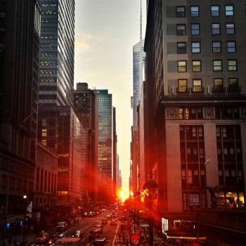 new york city sunset  #19531
