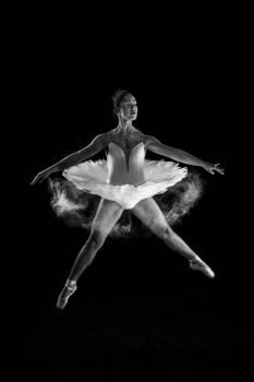Ballet Silhouette Art Free Photo