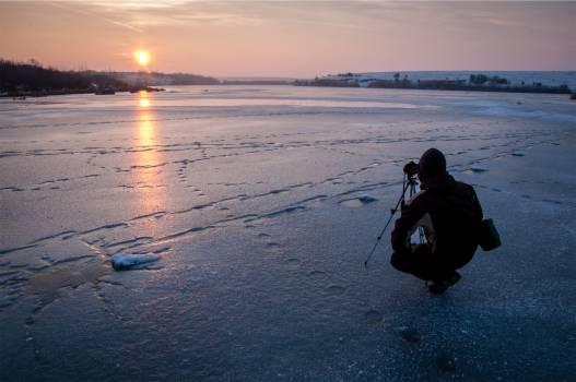 photographer photography sunset  Free Photo