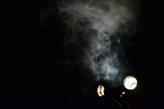 Smoke Black Light Free Photo