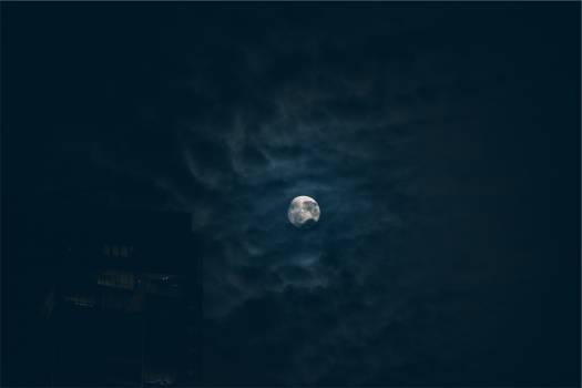 moon night sky  #19640
