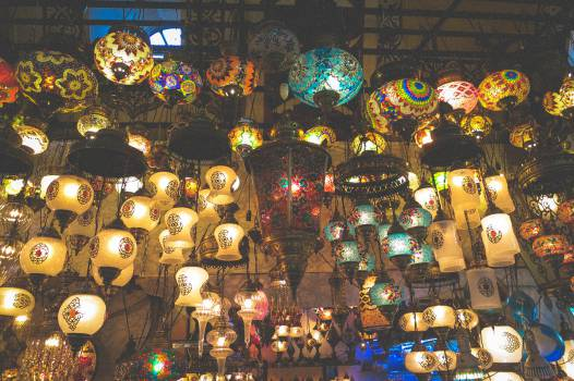 lamps lights Grand Bazaar  #19716